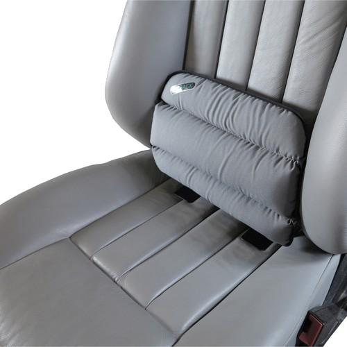 "SITBACK ""Standard"" Autositz Rückenkissen Stoff grau"