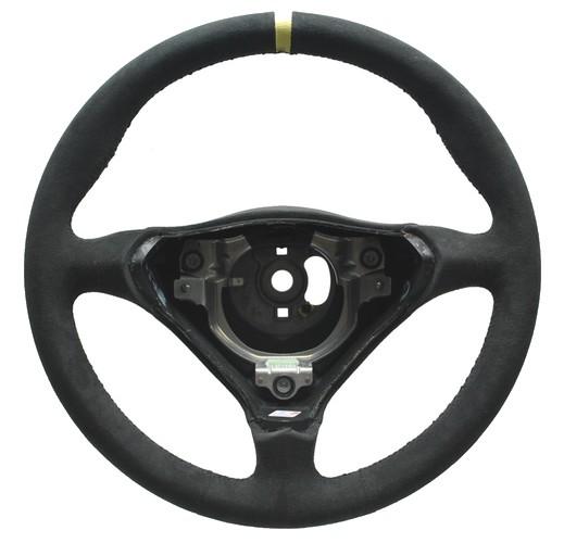 Porsche Lenkrad mit Alcantara neu beziehen inkl. Korpus und 12 Uhr Ring