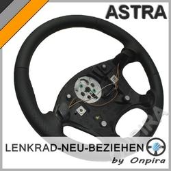 Opel Astra F Cabrio Leder Lenkrad neu beziehen Automobilleder