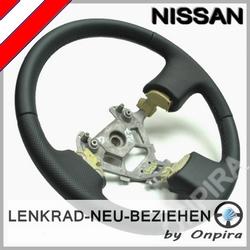 Nissan Micra Lenkrad mit Automobil - Leder neu beziehen