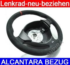 Lenkrad mit Alcantara neu beziehen - Ring auf 12Uhr - Top Sattlerarbeit