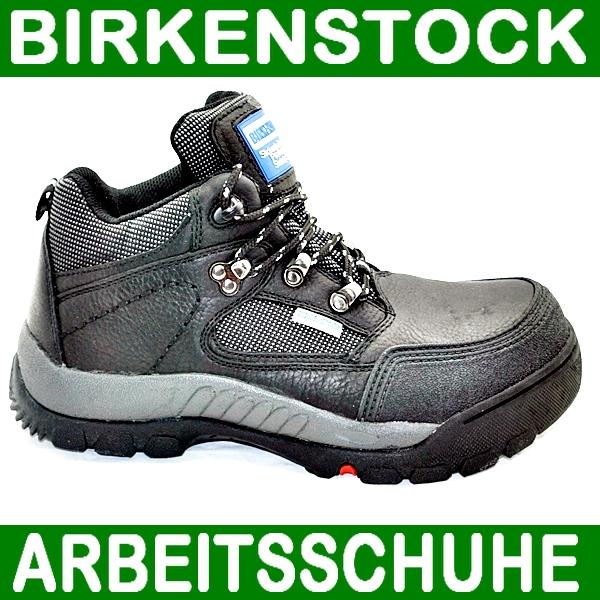 birkenstock arbeitsschuhe sicherheitsschuhe leder schwarz s2 405 201 ebay. Black Bedroom Furniture Sets. Home Design Ideas