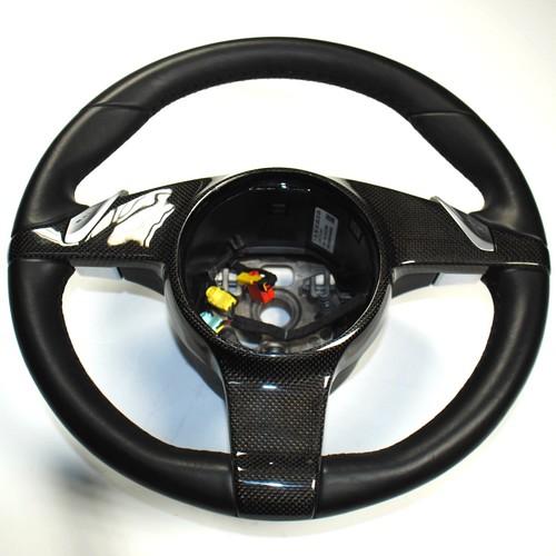 Porsche 911 987 997 Cayman Lenkrad mit Carbon Abdeckung Blende