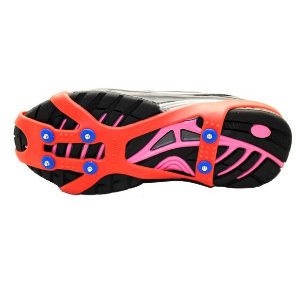 Ottinger Schuhkrallen für Kids rot mit Spikes Größe 28 - 36