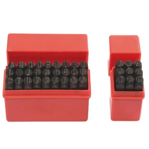 Schlagstempel Prägestempel 0-9 10mm Schlagzahlen