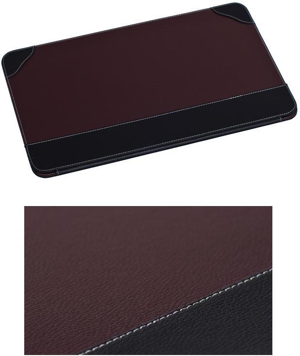 gro e schreibunterlage schreibtischunterlage braun. Black Bedroom Furniture Sets. Home Design Ideas