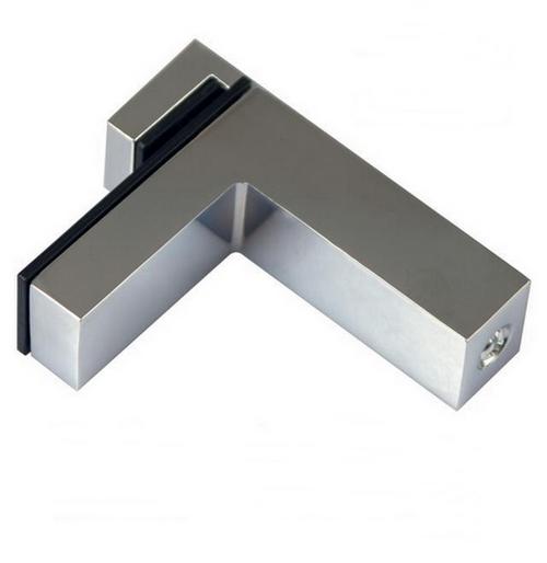 2x Große DESIGN Regalhalter Regalträger Regal Aluminium Alu Chrom