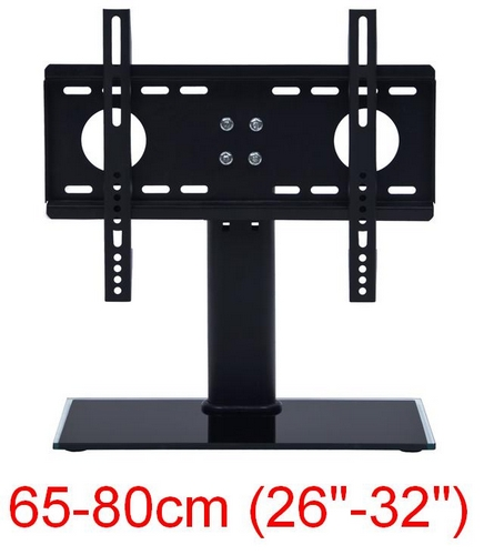 tv universal standfu 26 32 65 80cm lcd plasma led halter befestigungsmaterial ebay. Black Bedroom Furniture Sets. Home Design Ideas