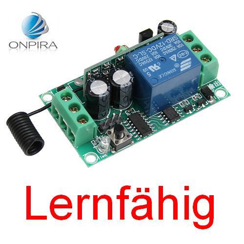 Lernfaehiger-Universal-433Mhz-Funk-Empfaenger-lernbar-Fernbedienung-12V-Platine