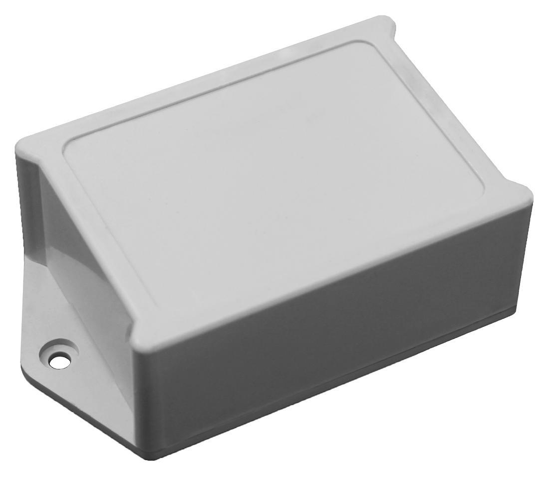 3x Kunststoff Gehäuse 64x45x22mm grau Leergehäuse Kleingehäuse Plastik