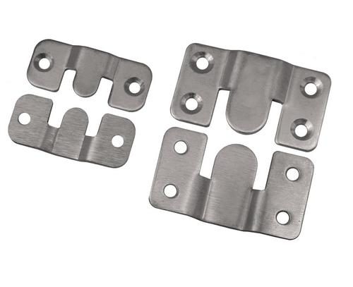 Edelstahl Möbelverbinder Bettverbinder Couchverbinder Metallverbinder verbinder