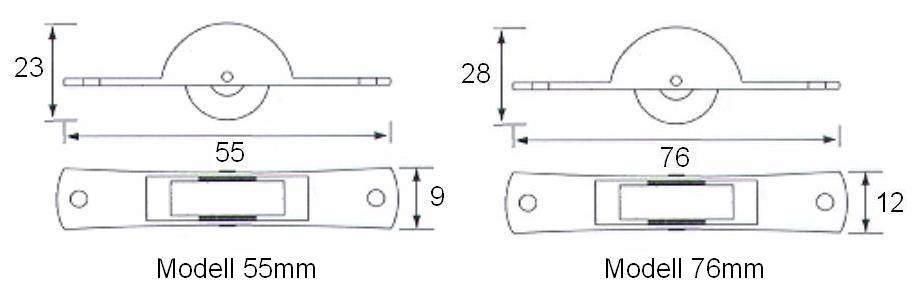 Laufrolle Stahl Rollwagen Schiebetürbeschlag Holz Schiebetür Rolle 29-05