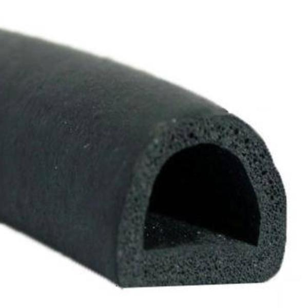 3m 11x11mm Gummidichtung Türdichtung Hubdach Glasdach Moosgummidichtung KFZ
