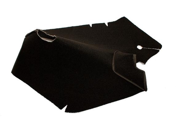 Opel Kadett B Auto Teppich komplettes Set Velours schwarz