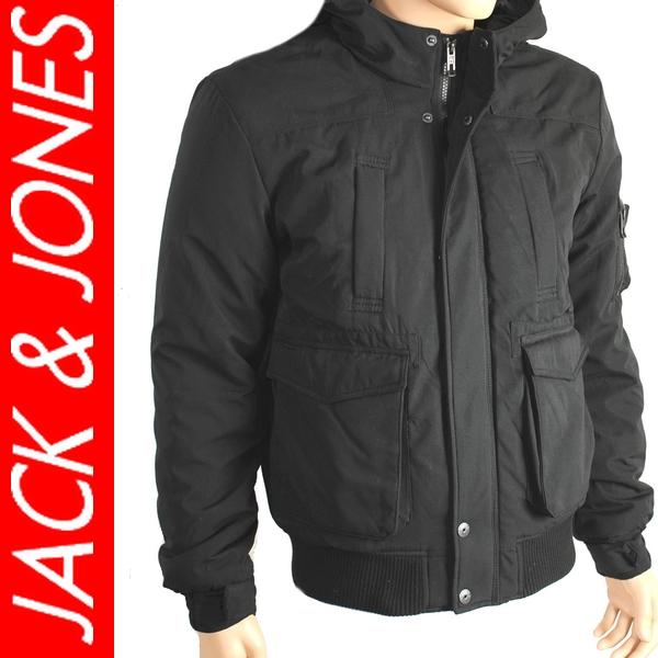 Jack and jones winterjacke schwarz