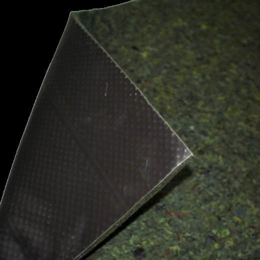 Dämmung Matte mit Schwerschicht grün Oldtimer KFZ Auto 165x72cm Stärke 15 mm