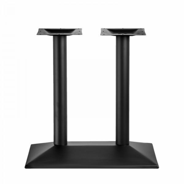 Tischgestell Schwarz Doppelt Einzel