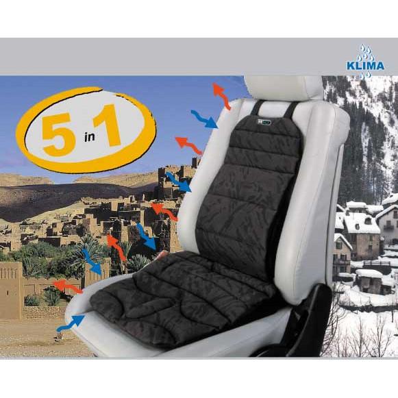 SITBACK ergonomische Heizungs- und Klima- Sitzauflage Sitzhilfe Rückenstütze