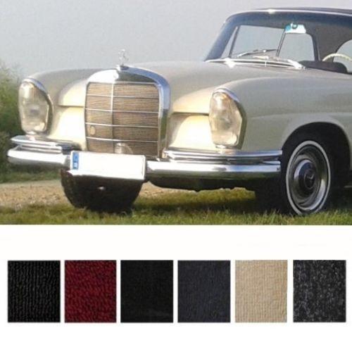 Mercedes W111 Coupe Hochkühler Teppich Velours dattel Keder Kunstleder dattel