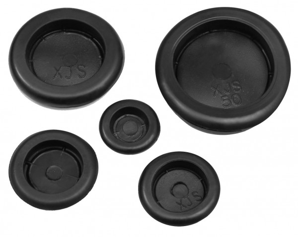 10x KFZ Gummi Stopfen Karosseriestopfen Gummistopfen Verschlusskappe Gummitüllen