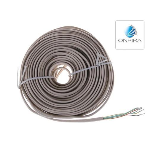 15m 6x 0,22 mm² Flachkabel Kabel Modellbau Video Türsprechanlage