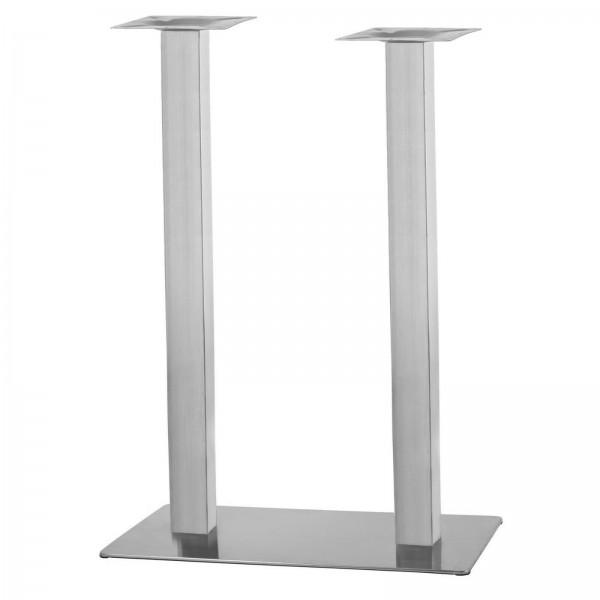 Tischgestell Doppel Eckig