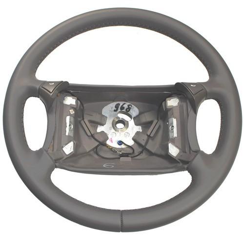 Porsche 911 993 986 996 Vierspeichen 4 Speichen Sport Lenkrad Leder grau