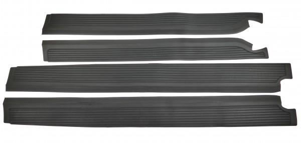 Gummibelag Set Schweller Mercedes W109 W108 SEL Einstiegsleiste 4-teilig