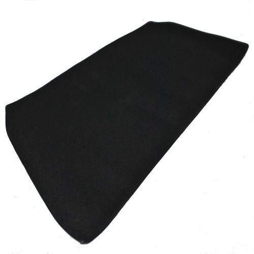 Opel Rekord C Teppich für Heckablage Schlinge schwarz mit Kunstlederkettelung