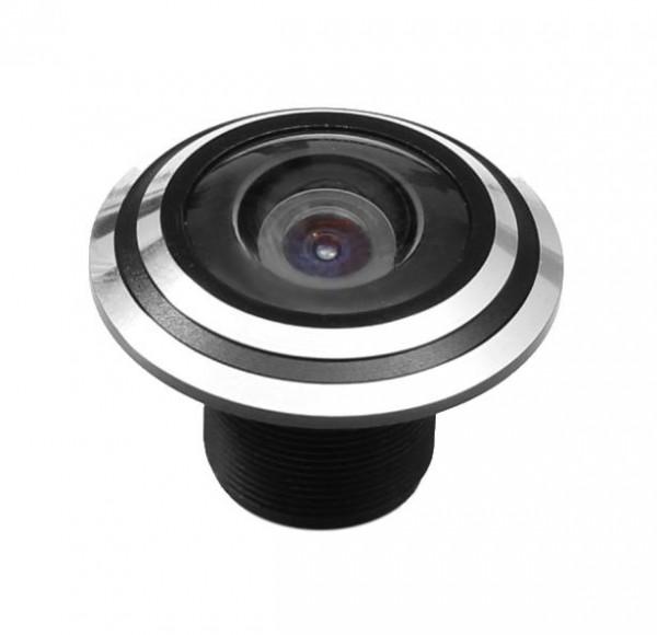 Mini 175° Echtglas Weitwinkel Objektiv für Überwachungskamera Minikameras
