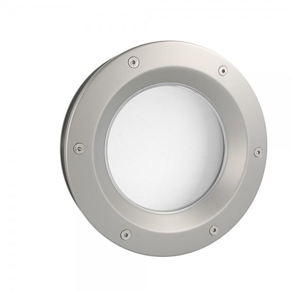 MLS Bullauge B6000 A6 Rundfenster Aluminium Edelstahloptik Ø 40 cm Glas matt 0180-0213-A6