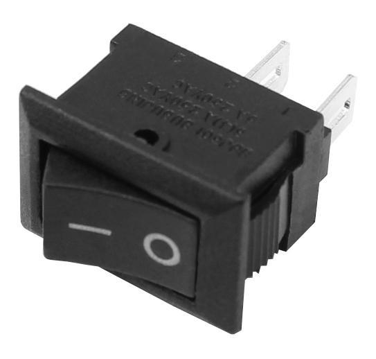 20x Ultra Mini Wippschalter 1xEIN 9x14mm Schwarz Wippenschalter EIN/AUS Schalter