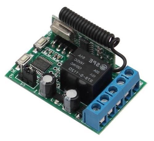 OE-433L1 (12V) Lernfähiger Universal Funk Empfänger 433Mhz Fernbedienung Timer