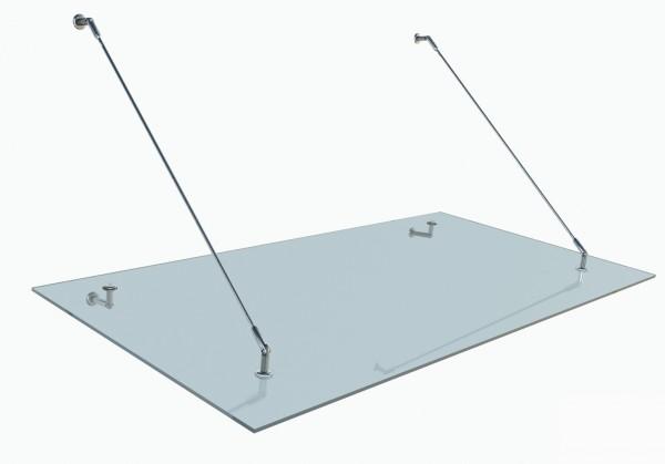 MLS Glas Vordach Türvordach Omega A 1200x900 0480 - 0150