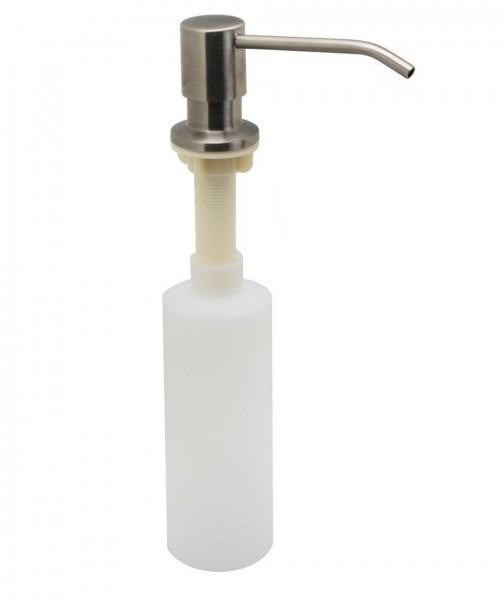 Edelstahl Einbau Seifenspender Waschbecken Lotionspender Spülmittelspender
