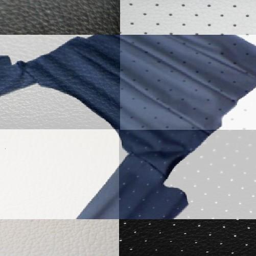 dachhimmel opel ascona b 4 t rer in weiss perforiert. Black Bedroom Furniture Sets. Home Design Ideas