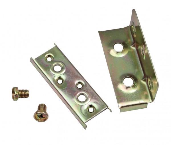 Möbelverbinder Bettverbinder Verbinder Metallverbinder schraubbar 9-15