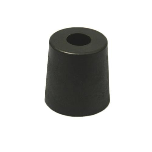 8x Gummifüße 33x33mm Gummifuß Edelstahleinlage Boxenfüße Gerätefüße Türstopper