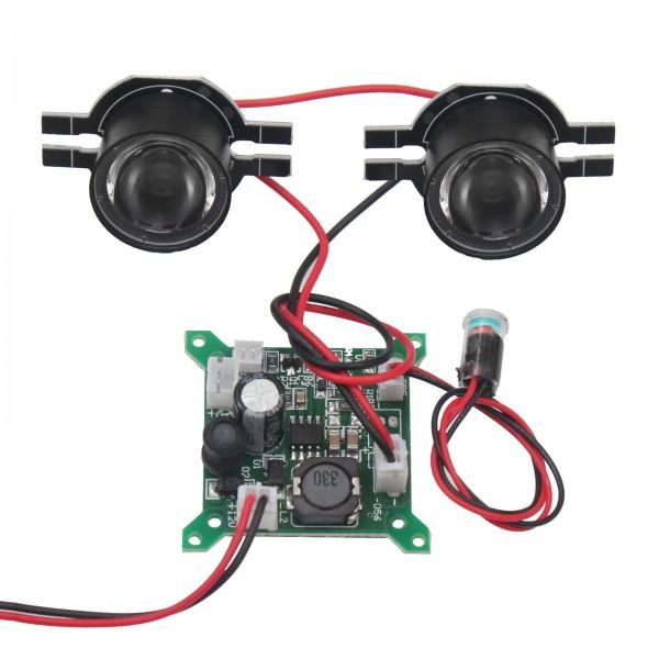 Infrarot IR Diode 6W 2x Single 3W Scheinwerfer IR Diode Nachtsicht Überwachungskamera