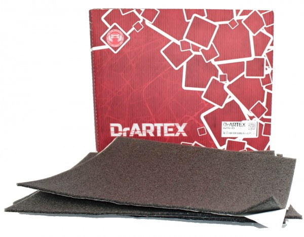 DrArtex Dämmmatte Baffle05 50x37,5 cm Tür Boden Dach Autohifi Bassbox