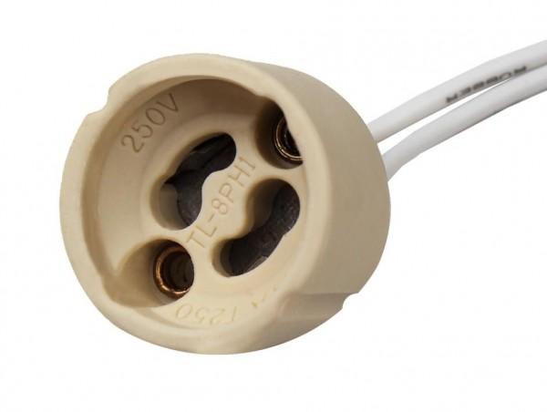 10x GU10 Keramik Lampenfassung Lampensockel Halter Sockel Fassung 230V LED