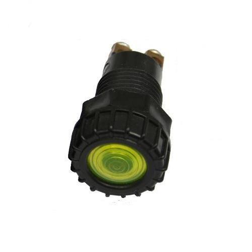 KFZ Signalleuchte 6V 12V 24V Gelb Lampe Warnlampe Kontrollleuchte T4W Sockel