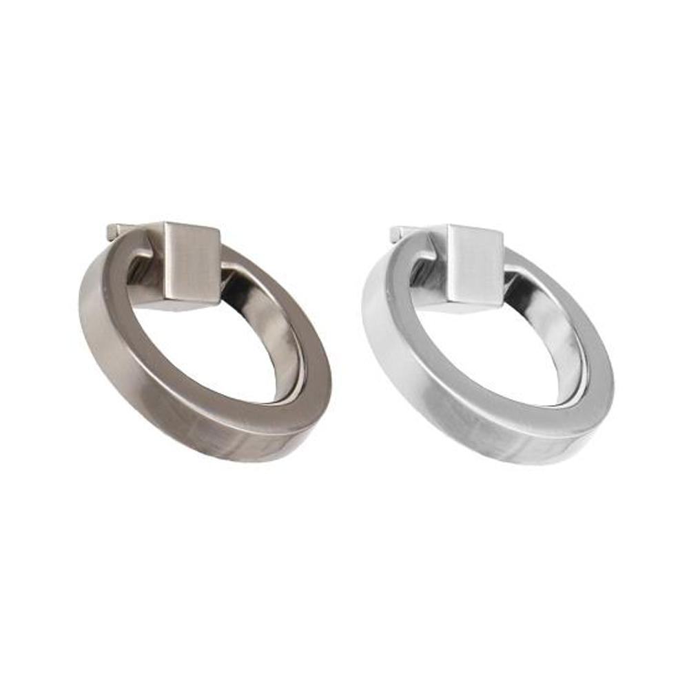 Mobelgriff Ring Rund Edelstahl Design Chrom Mobelknopf Mobelgriffe