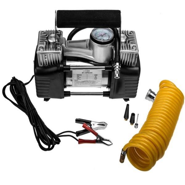 2 Zylinder 8 bar 12V KFZ Leistungs- Kompressor Land Rover Defender Auto LKW PKW