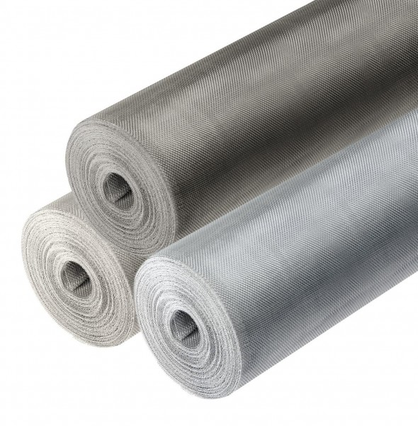Fliegengitter Aluminium oder Edelstahl Meterware Insektenschutz Fliegennetz