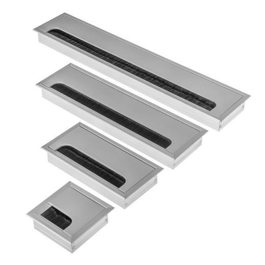 Hochwertige Aluminium Kabeldurchführung Kabeldurchlass Kabelauslass ALU 80mm
