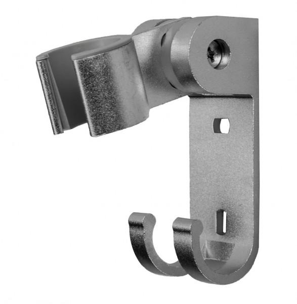 Aluminium Duschkopf Halter Modell Paris für Wandmontage Brause Halterung ALU