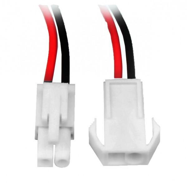 5 Paar Tamiya-Mini Stecker Kupplung mit Kabel Lipo 10,4mm Akku Buchse