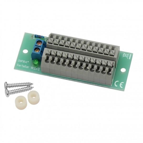 ONPIRA Stromverteiler Verteiler 8A belastbar Modellbau Gleich- und Wechselstrom