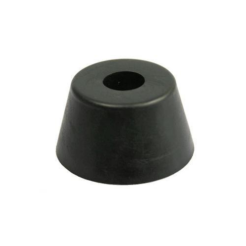 8x Gummifüße 40x22mm Gummifuß Edelstahleinlage Boxenfüße Gerätefüße Türstopper
